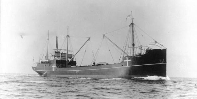 Fragt- og passagerskibet Møen